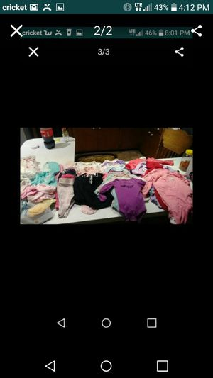 0 to 6 month baby girl clothes for Sale in Riverside, CA