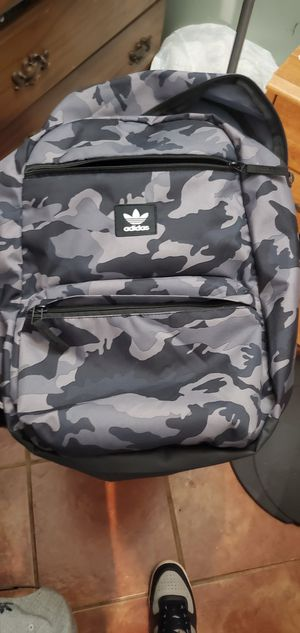 Adidas camo backpack for Sale in Santa Ana, CA