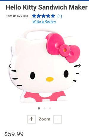 Hello Kitty Panini/Sandwich Maker for Sale in Murfreesboro, TN