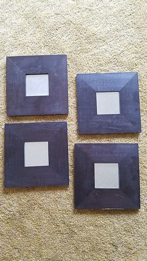 """4 Malma Framed Mirrors 10""""x10"""" each for Sale in Seattle, WA"""