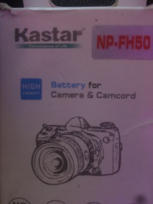 Kastar Replacement Battery for Sony NP-FH50 & Sony DCR-SX60 for Sale in Los Angeles, CA
