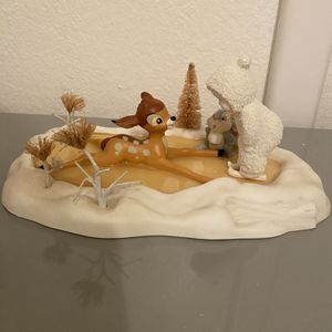 Disney Bambi And Thumper Snowbabies Figurine Statue Figure for Sale in Las Vegas, NV