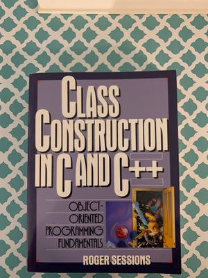 Class Constructor in C and C ++ for Sale in Sunnyvale, CA