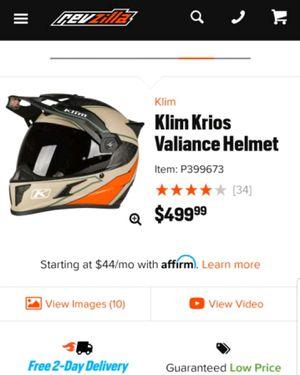 Klim krios 2X helmet brand new!! for Sale in Elmira, NY
