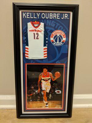 Washington Wizards Signed Framed Kelly Oubre Jr. Picture for Sale in Arlington, VA