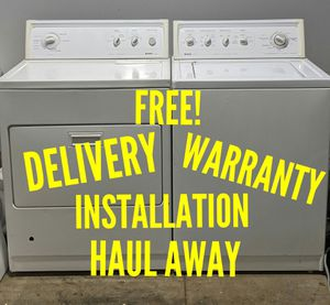 FREE DELIVERY/INSTALLATION/WARRANTY/HAUL AWAY - Kenmore Washer & GAS Dryer for Sale in Hilliard, OH