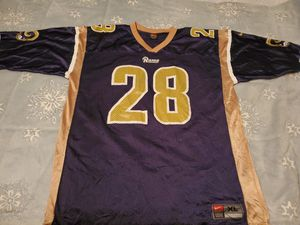 Vintage Rams #28 Jersey size XL for Sale in Euless, TX
