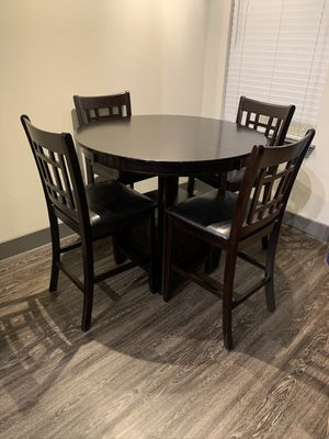 Dark Wood Kitchen Table for Sale in Dallas, TX