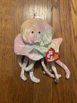 TY Brand Tie Dye Jellyfish Beanie Baby Stuffed Animal for Sale in Syracuse, NY