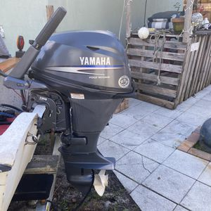 Yamaha 15 Hp 4stroke for Sale in Hollywood, FL