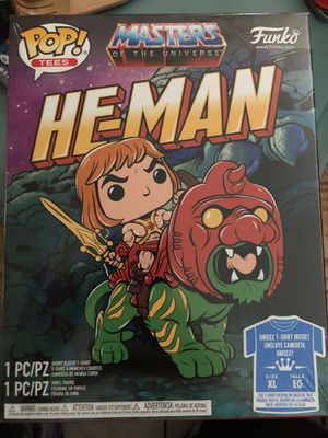 Motu He Man glow in the Dark t-shirt Bundle XL Sealed for Sale in Los Angeles, CA