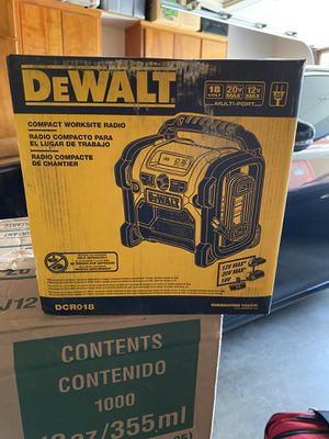 Brand New DEWALT RADIO for Sale in Los Angeles, CA