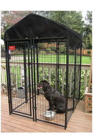 Lucky Dog - Heavy Duty Welded Wire Dog Kennel for Sale in Lowell, MA