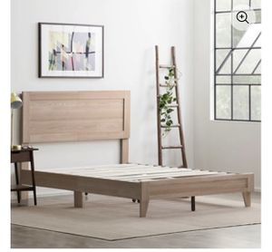 Rest Haven Durable Classic Framed Wood Platform Bed, Full, Natural, BRAND NEW IN BOX!!!! for Sale in Mount Laurel Township, NJ