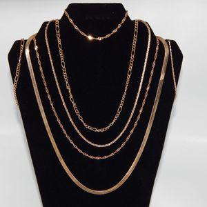 14 K GP or 14 K SP Necklace Sets NIB for Sale in Wichita, KS