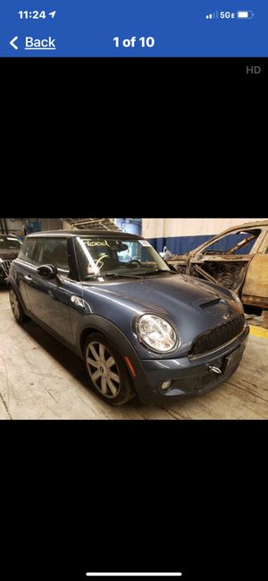 Parting out 2009 Mini Cooper S for Sale in Leander, TX