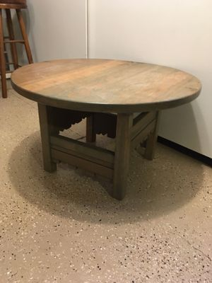 Round Coffee Table for Sale in Denver, CO