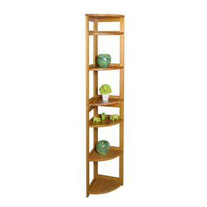 "Regency Seating 67"" 5-Shelf High Corner Folding Bookcase for Sale in Hilliard, OH"