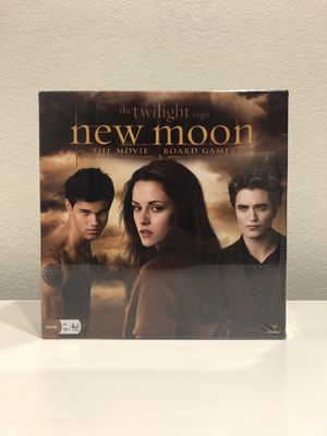 TWILIGHT SAGA NEW MOON THE MOVIE BOARD GAME PUZZLE for Sale in Lewisville, TX