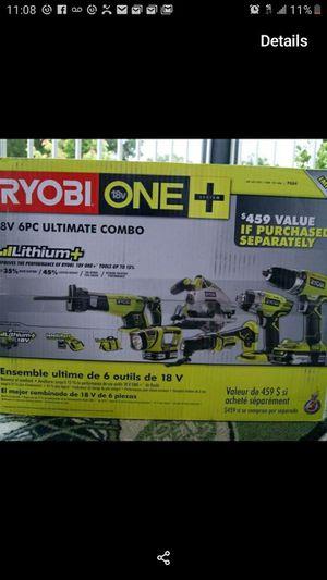 Ryobi 6 tool kit (New) for Sale in Vancouver, WA