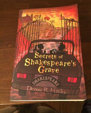 Secrets of Shakespeare's Grave for Sale in Aurora, IL