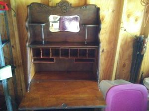 Antique Oak Secretary. for Sale in Niles, MI