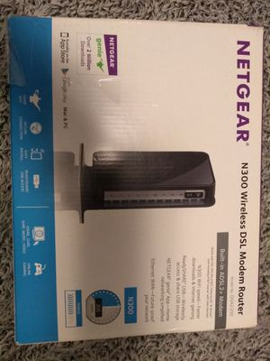 Netgear N300 Dsl Modem Router for Sale in Anaheim, CA