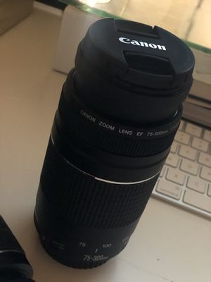 CANON LENSES FOR SALE ONLY for Sale in Woodstock, GA