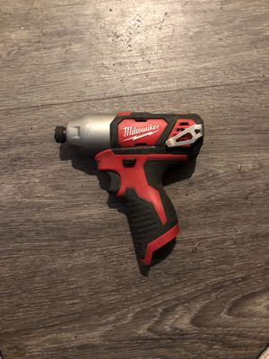 Milwaukee 12 V impact driver for Sale in Los Angeles, CA