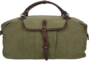Green canvas duffle bag for Sale in McLean, VA