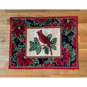 Christmas Cardinals Tapestry Area Rug for Sale in Dacula, GA