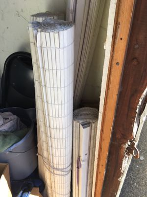 Roll down RV Shades With slide and clips for track for Sale in Oceanside, CA