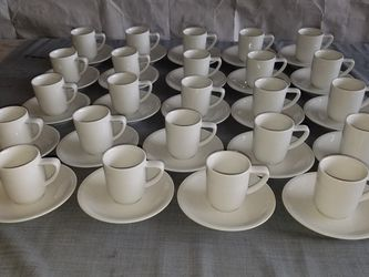 Rosenthal Germany Epoque demitasse espresso cups and saucers set of 24 @$5.00 each buy bulk pay less A123Z515 for Sale in West Covina,  CA