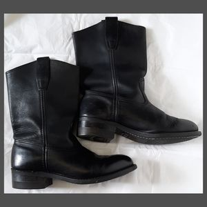 Cat's Paw Black Leather Boots Size 7.5 for Sale in Mount Dora, FL