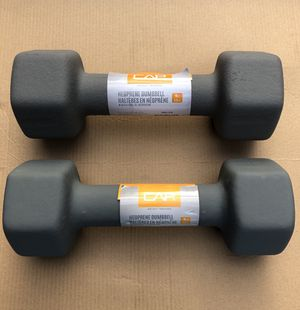 10 lb neoprene dumbbell set for Sale in Niles, IL