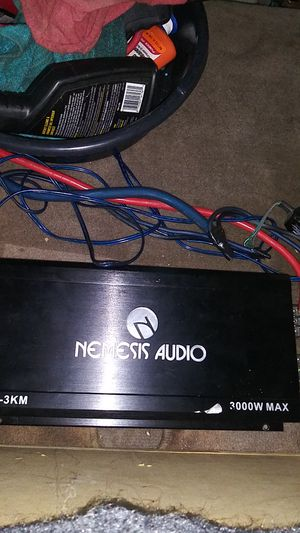 Nemesis audio 3k for Sale in Irving, TX