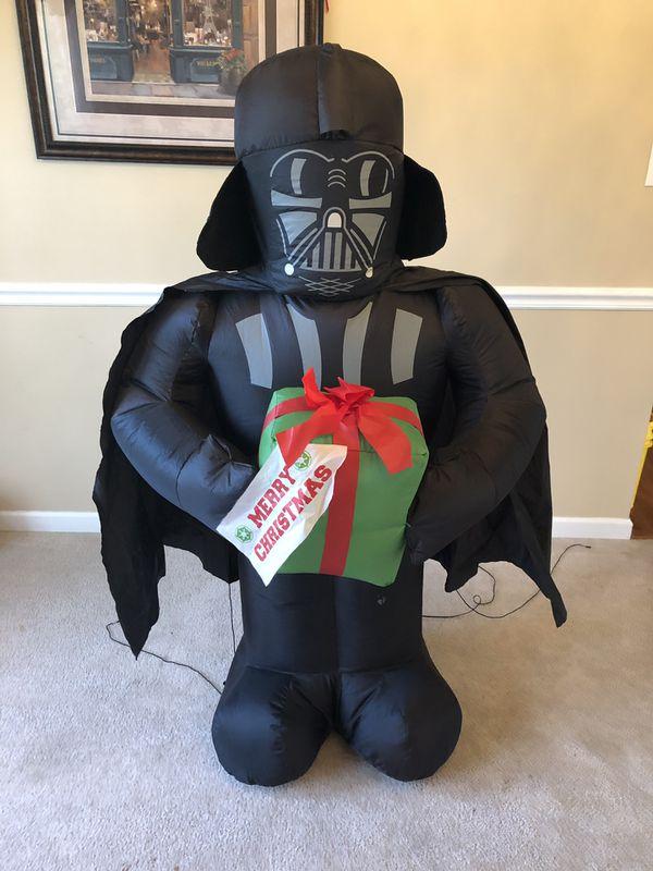 Darth Vader Christmas inflatable