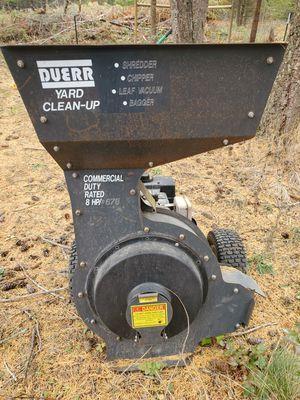 Duerr commercial 8hp chipper for Sale in Elk, WA