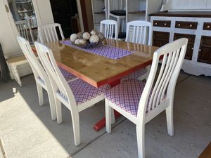 Cute kitchen table /6 chairs ❤️ for Sale in Denver, CO