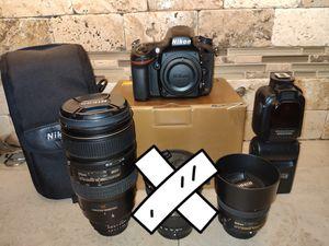 Nikon D610 19k shutter package for Sale in Matteson, IL