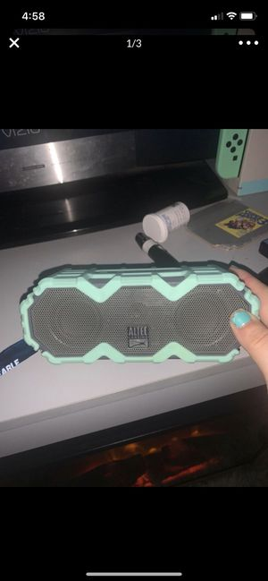 Altec lansing bluetooth speaker for Sale in Corona, CA
