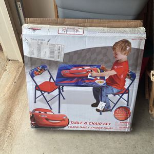 Folding Table & Two Padded Chairs for Sale in Crestview, FL