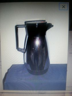 Vintage Chrome Coffee Pot Carafe by Dr Zimmerman for Sale in Perkasie,  PA