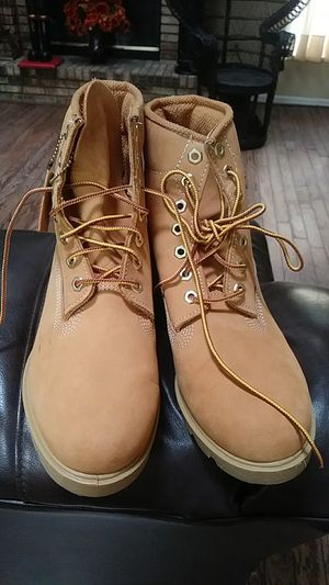 Men's never used Timberland boots size 8 and 1/2 for Sale in NW PRT RCHY, FL
