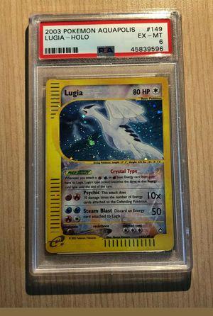 Pokemon Card Crystal Lugia Holo Graded (Please Read Description) for Sale in Houston, TX
