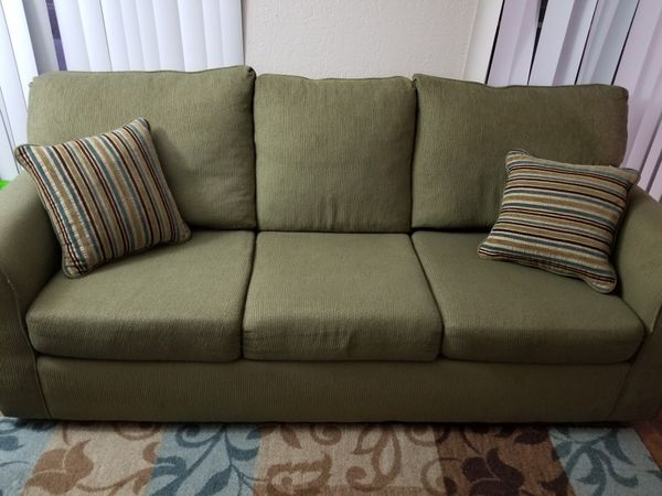 Price Drop!!! 3 Seater Sofa with Cushions: For Pickup