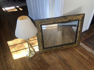 Distressed Wood Mirror! for Sale in Fairfax, VA