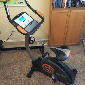 Exercise upright bike by NordicTrack for Sale in Saint Charles, MO