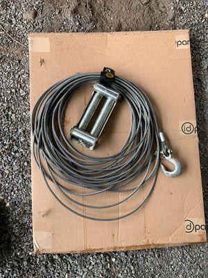 Warn winch cable and fairlead for Sale in Everett, WA