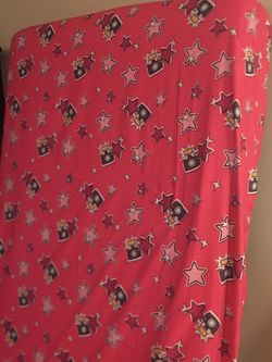 Pink Star Twin Bed Cover for Sale in Naperville,  IL